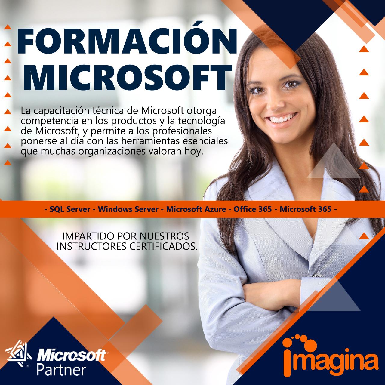 Formación Microsoft